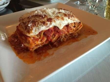 Portofino Italian Ristorante Baked Lasagna