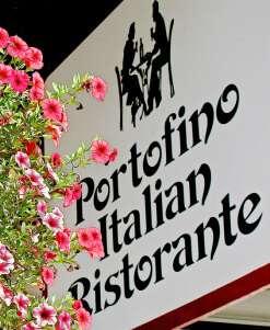 Portofino Restorante Sign