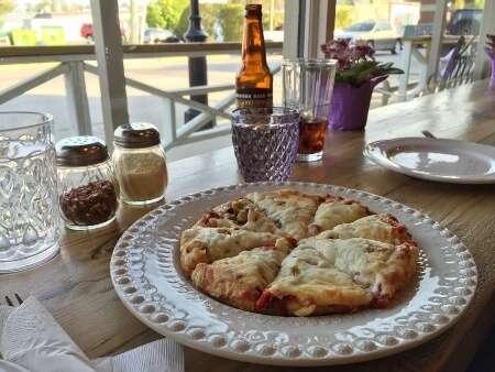 Tim's Gourmet Primavera Pizza