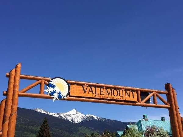 Valemount BC Sign Post