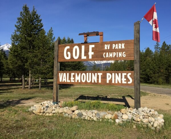 Superb Valemount BC Camping Resorts
