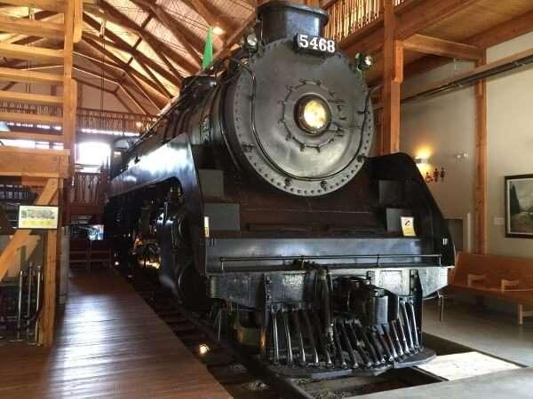 1948 Mikado 5468 Steam Locomotive