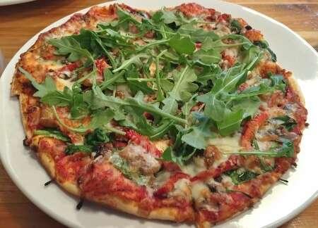 Nico's Feller Buncher Gourmet Pizza