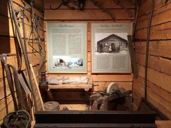 Revelstoke Railway Museum Display
