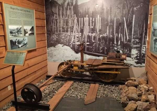 Revelstoke Railway Museum Displays