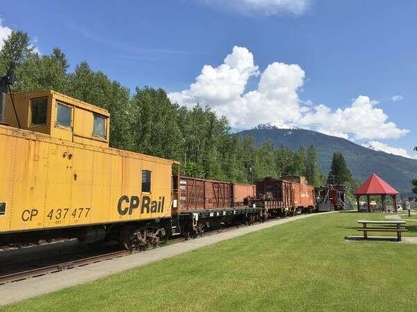 Revelstoke Railway Museum Outdoor Displays