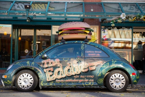 The Eddie Burger Car