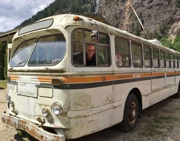 Vintage Brill BC Transit Bus