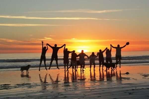 Baja Peninsula Beach Sunset