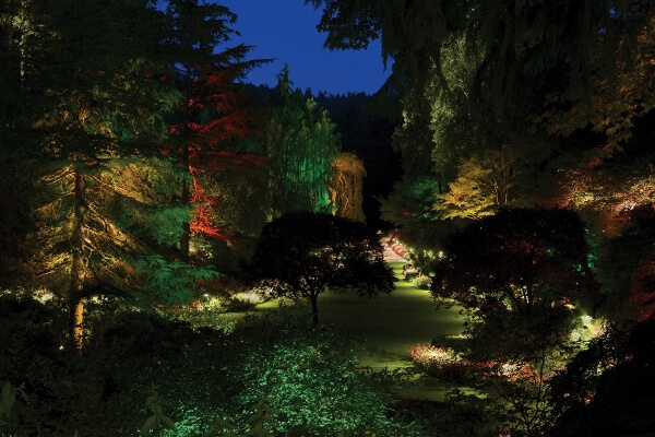 The Butchart Gardens Night Illumination
