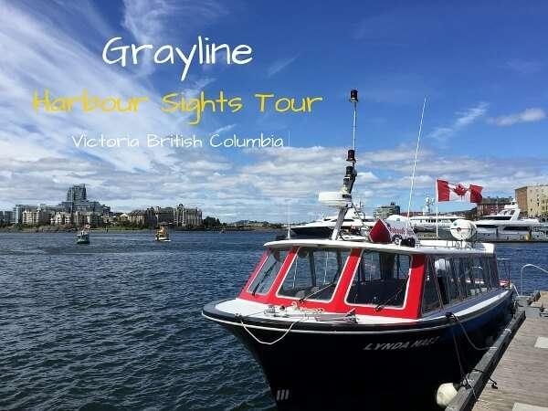 Gray Line Harbour Boat Tour - Victoria BC