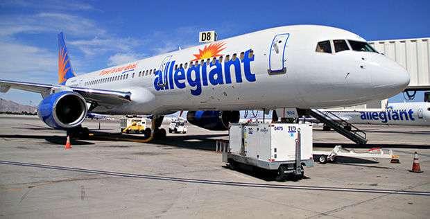Allegiant Airplane