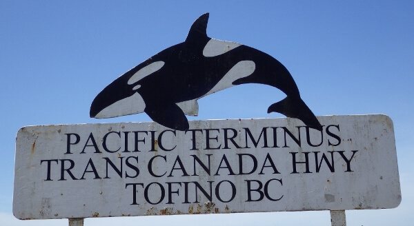 tofino-bc-sign-post