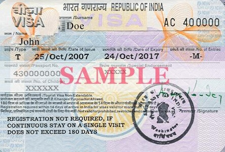 india-tourist-visa-sample