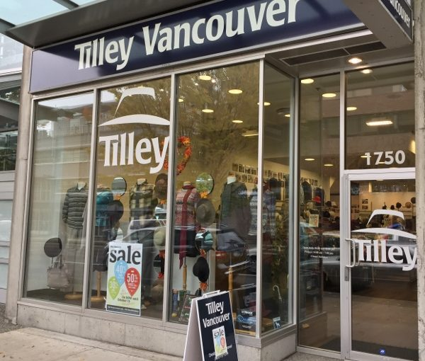 Quality Travel Clothing at Tilley Vancouver