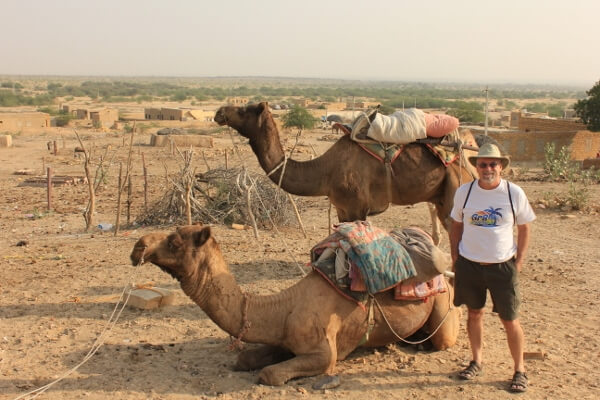 Camel Safari in Jaisalmer India