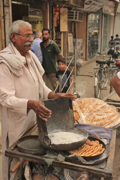 Cookie Vendor in Old Delhi