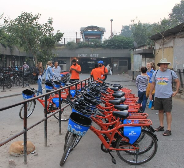 Delhi by Cycle Tours