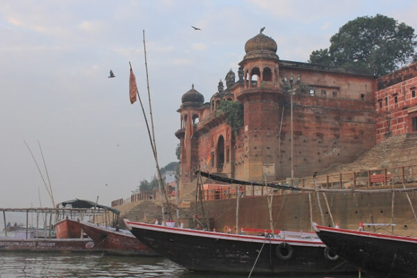 Historic Buildings in Varanasi India