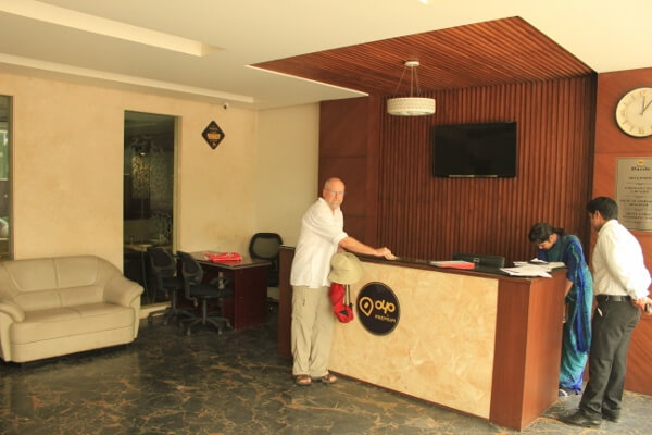 Hotel Dazzle Agra Reception