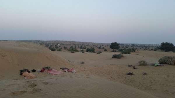 Jaisalmer Camel Safari Camping