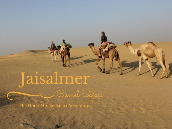 An Outstanding Jaisalmer Camel Safari