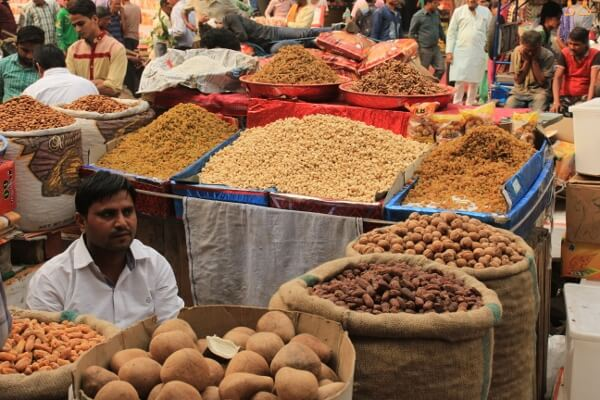 Old Delhi Marketplace