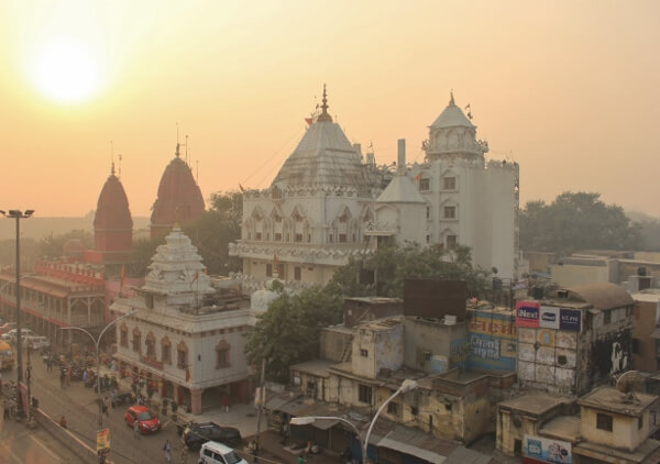 Sunrise in Old Delhi