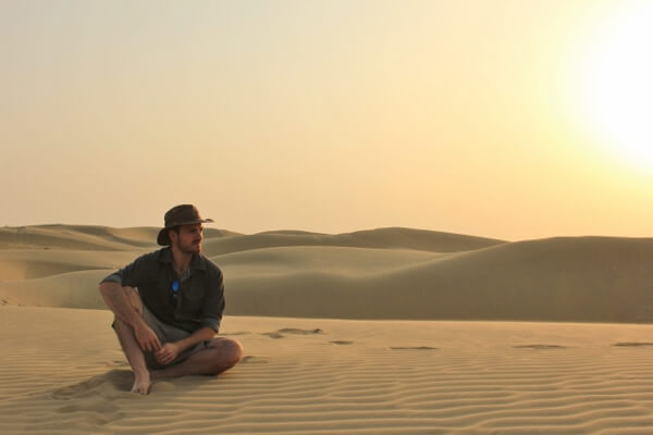 Thar Desert India Sunset