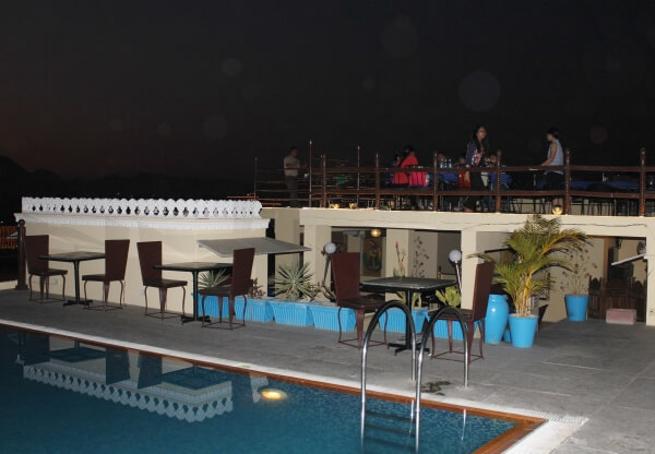 Udai Garh Heritage Resort Rooftop Pool