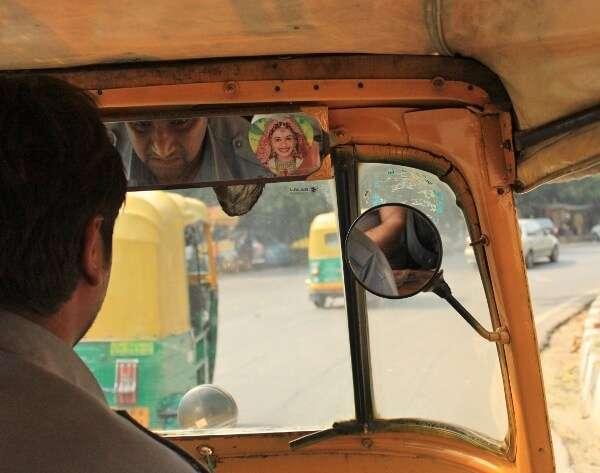 India Tuk Tuk Driver