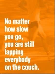 walking motivation poster