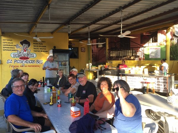 Baja Amigos Caravan Tours Hosted Dinner