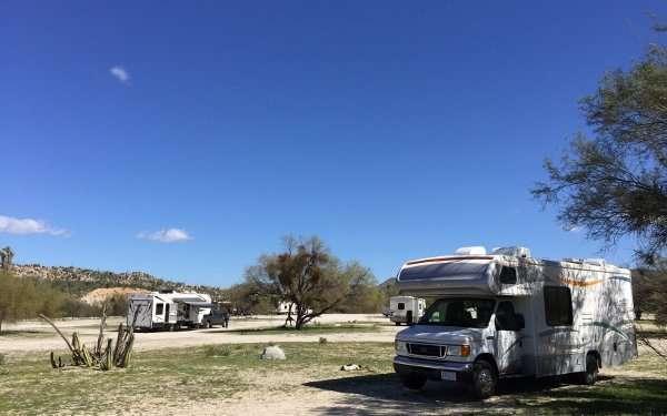 Catavina Baja Mexico Camping