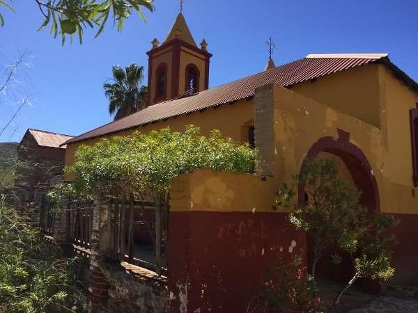 El Triunfo Historic Mission Baja Mexico