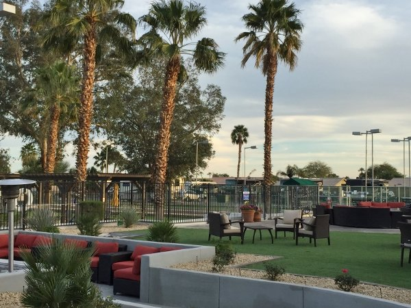Indian Waters RV Resort Patio Lounge