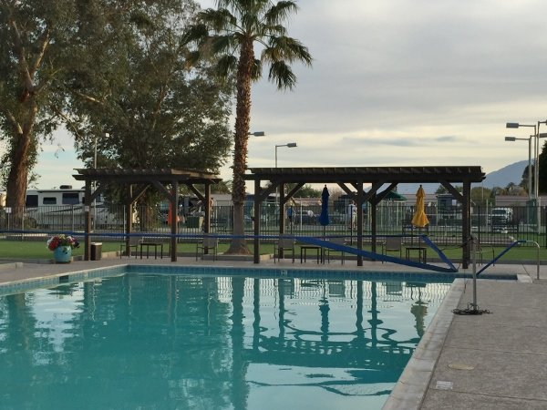 Indian Waters RV Resort Pool Area