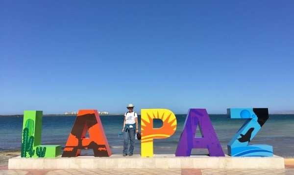 La Paz Mexico Sign