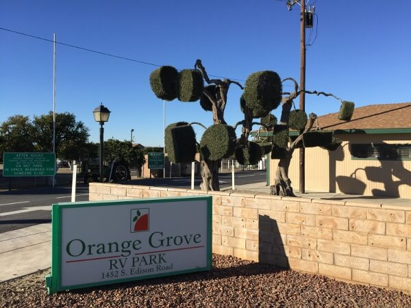 Great Camping at Orange Grove RV Park