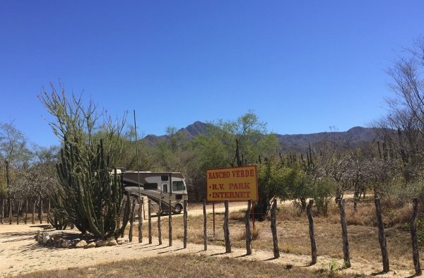 Rancho Verde Campground Baja Mexico