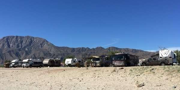 Daggett's Campground Bahia de Los Angeles Baja Mexico