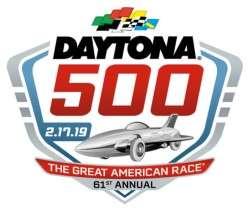 Daytona 500 2019 Logo