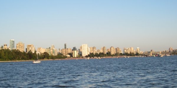 English Bay Vancouver BC