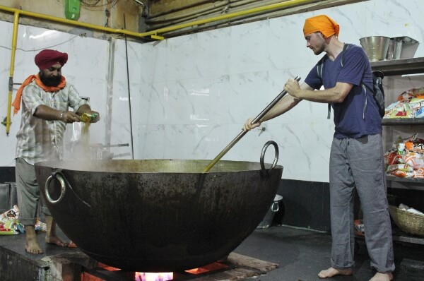 Gurudwara Bangla Sahib Temple Kitchen