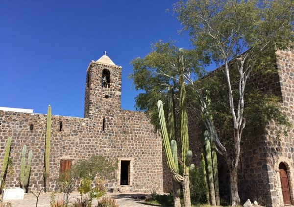 Historic Church Mulege Mexico