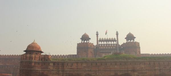 Historic Red Fort New Delhi