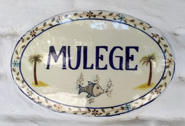 Mulege Mexico Sign