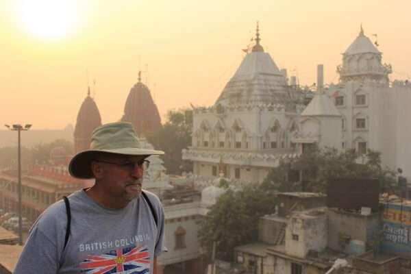 Robert Tellier in India