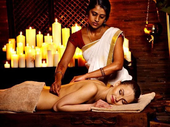 Ayurveda Massage India