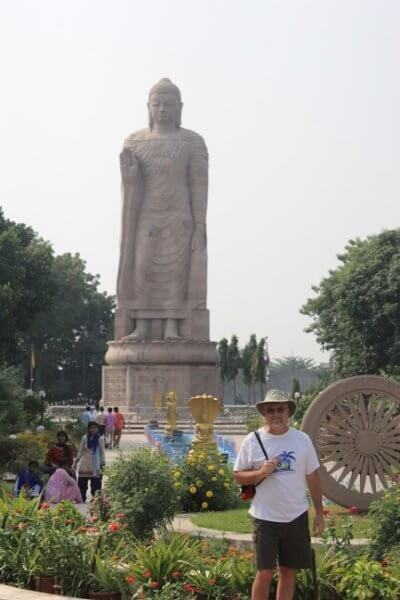 Buddha Monument in Sarnath India